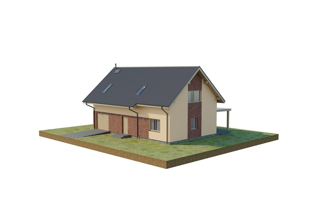 Projekt domu L-6765 - model