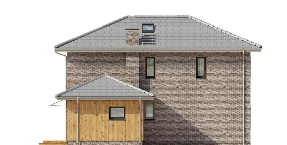 Projekt domu DM-6753 - elewacja