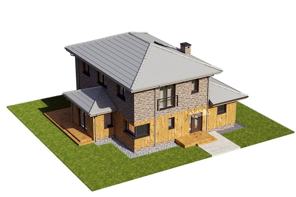 Projekt domu DM-6753 - model