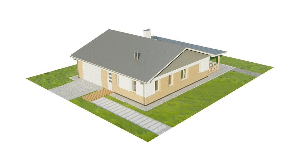 Projekt domu DM-6728 - model