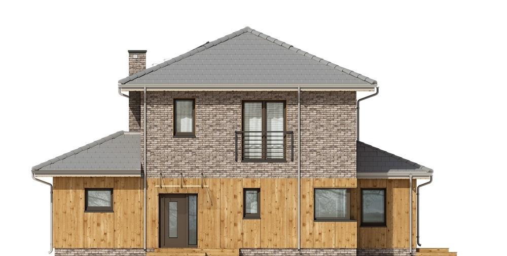 Projekt domu L-6753 - elewacja