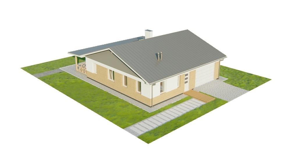 Projekt domu L-6728 - model