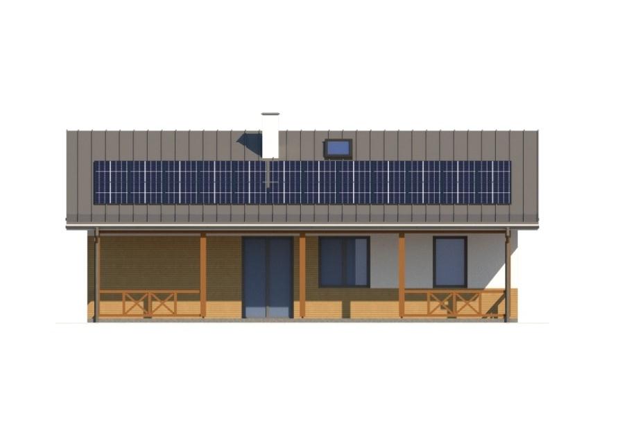 Projekt domu L-6728 - elewacja
