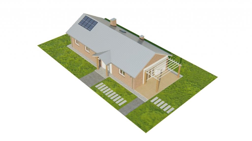 Projekt domu DM-6743 - model