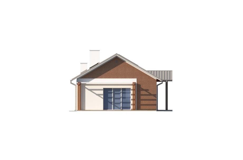 Projekt domu L-6743 - elewacja