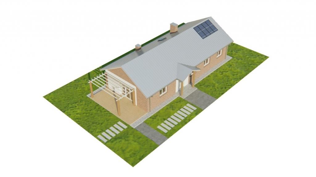 Projekt domu L-6743 - model