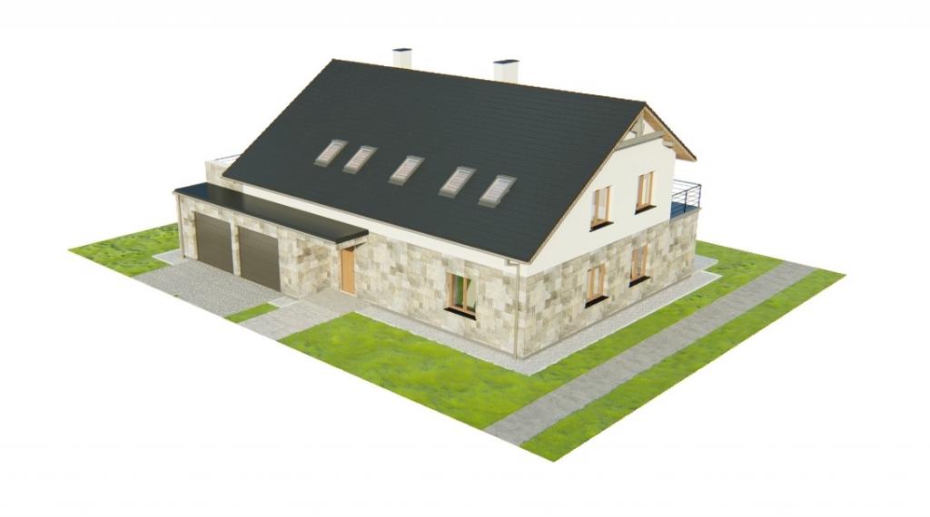 Projekt domu DM-6750 - model
