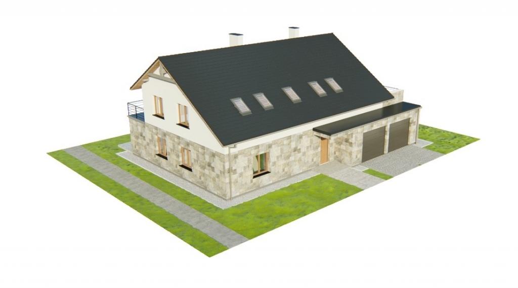 Projekt domu L-6750 - model