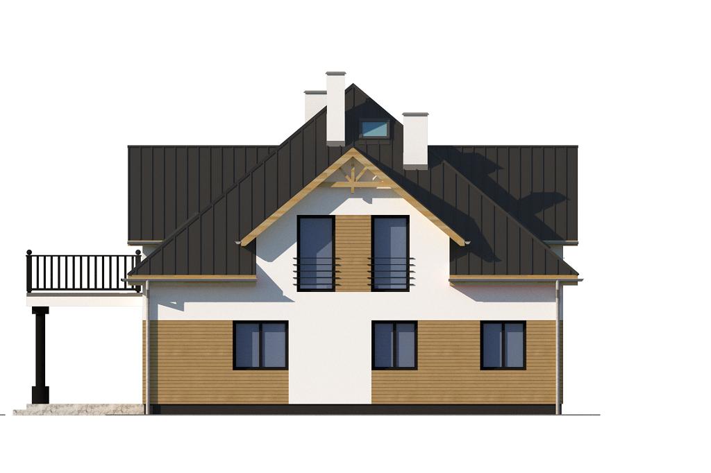 Projekt domu L-6752 - elewacja