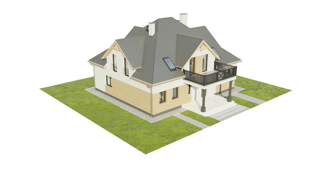 Projekt domu L-6752 - model
