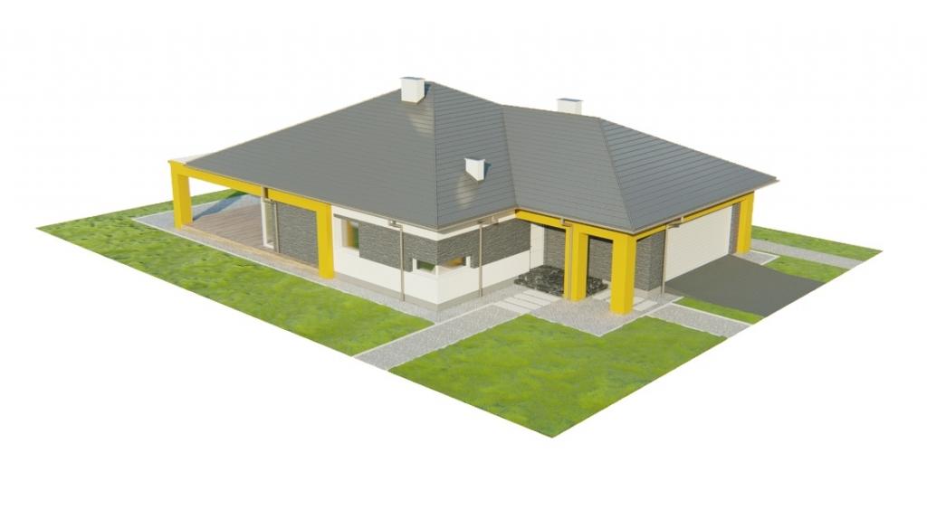Projekt domu DM-6754 - model