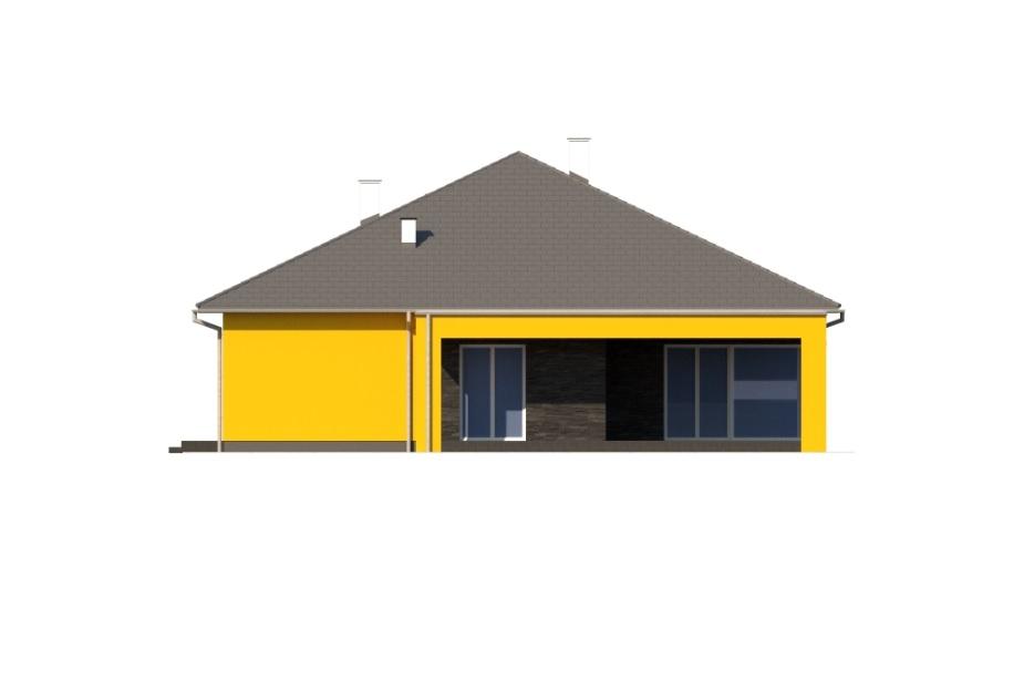 Projekt domu DM-6754 - elewacja