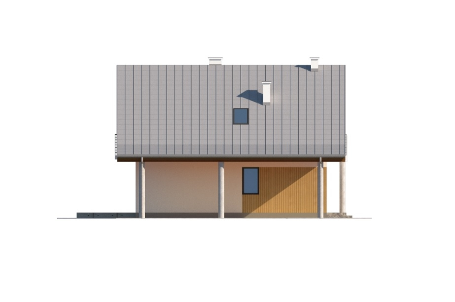 Projekt domu DM-6755 - elewacja