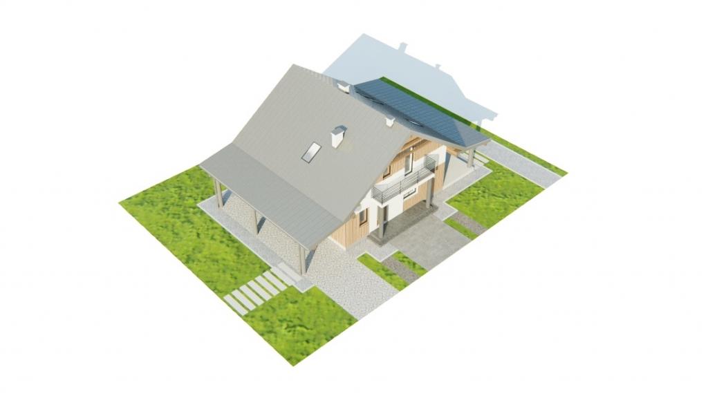Projekt domu DM-6755 - model