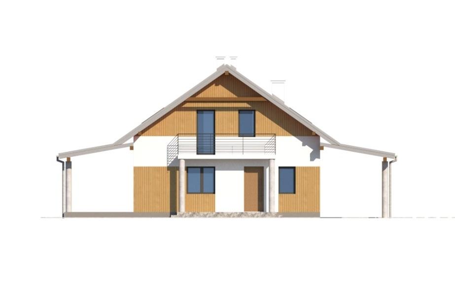Projekt domu L-6755 - elewacja