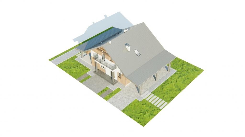 Projekt domu L-6755 - model