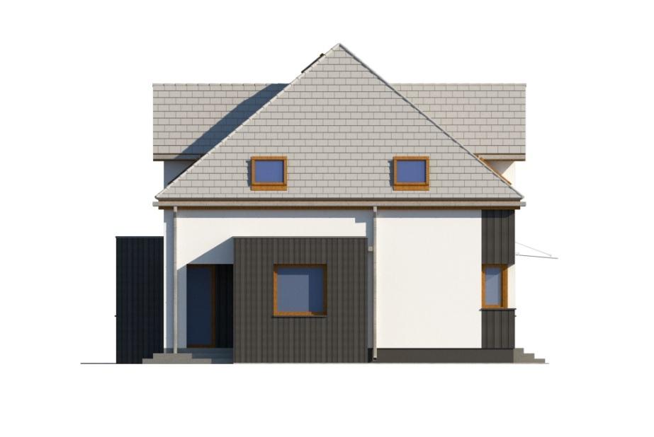 Projekt domu DM-6758 - elewacja