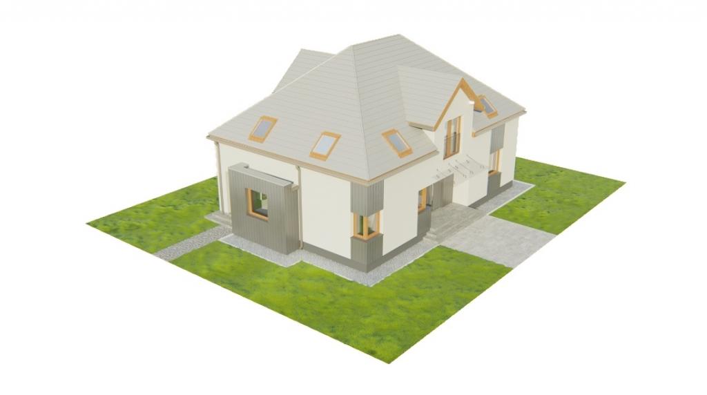 Projekt domu DM-6758 - model