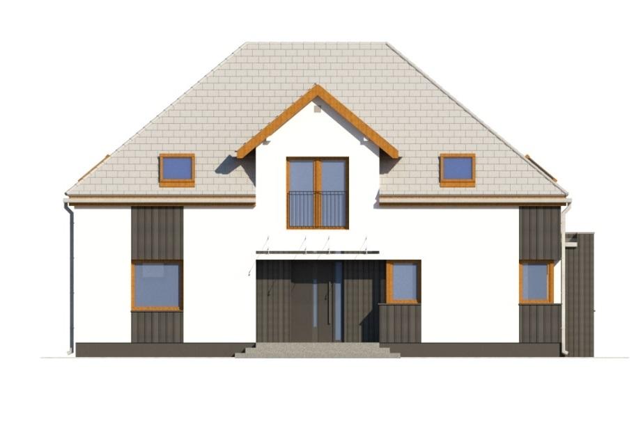 Projekt domu L-6758 - elewacja