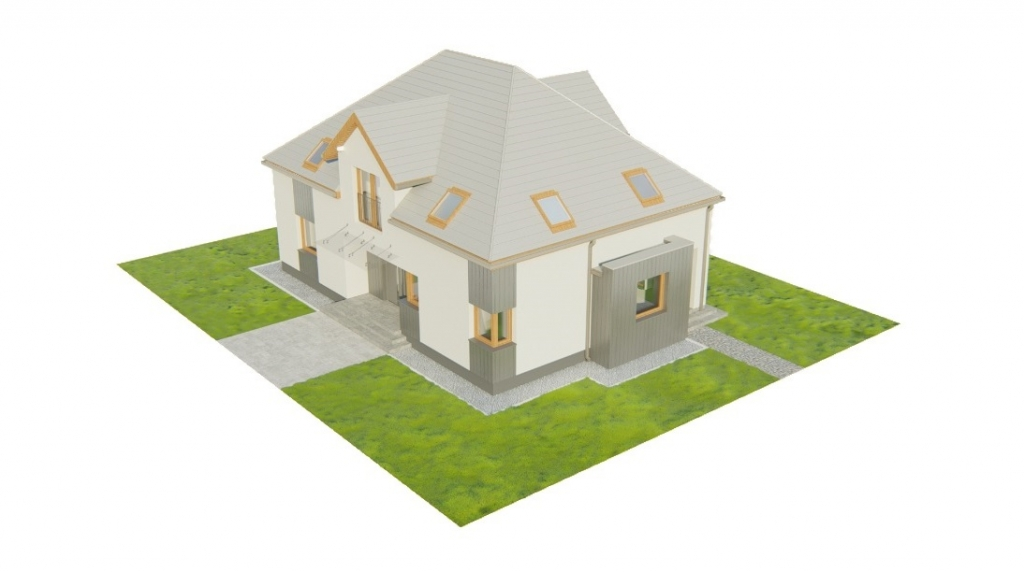 Projekt domu L-6758 - model