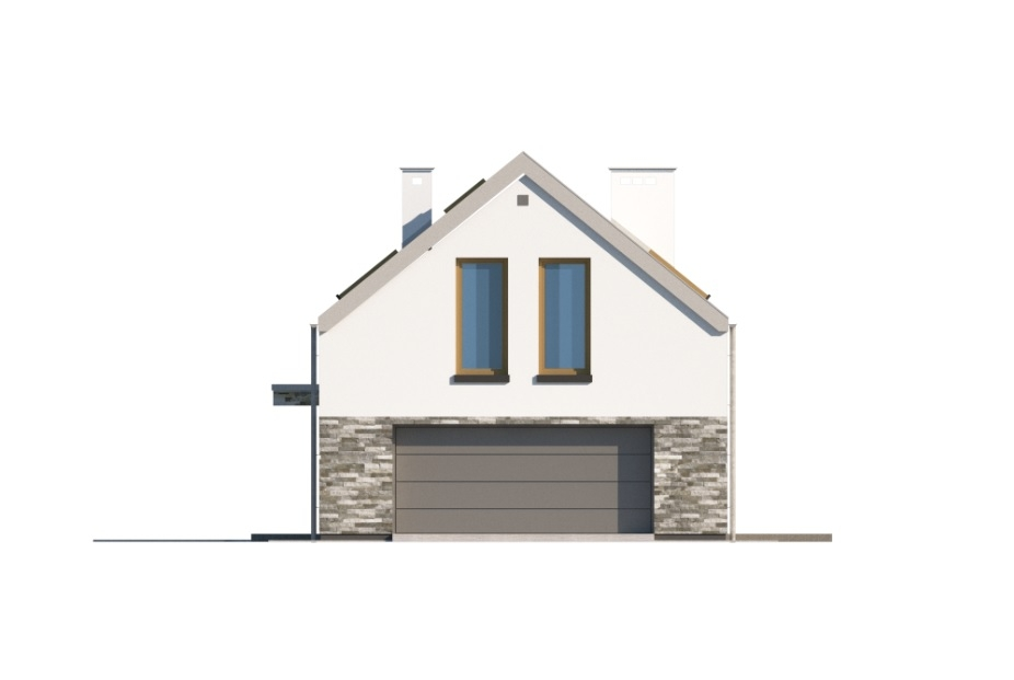 Projekt domu DM-6768 - elewacja