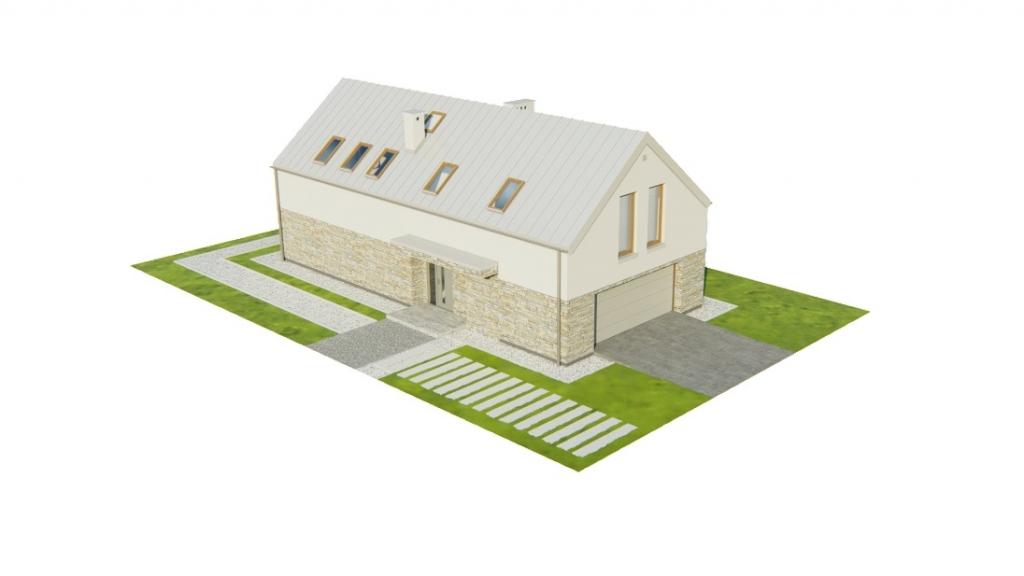 Projekt domu DM-6768 - model