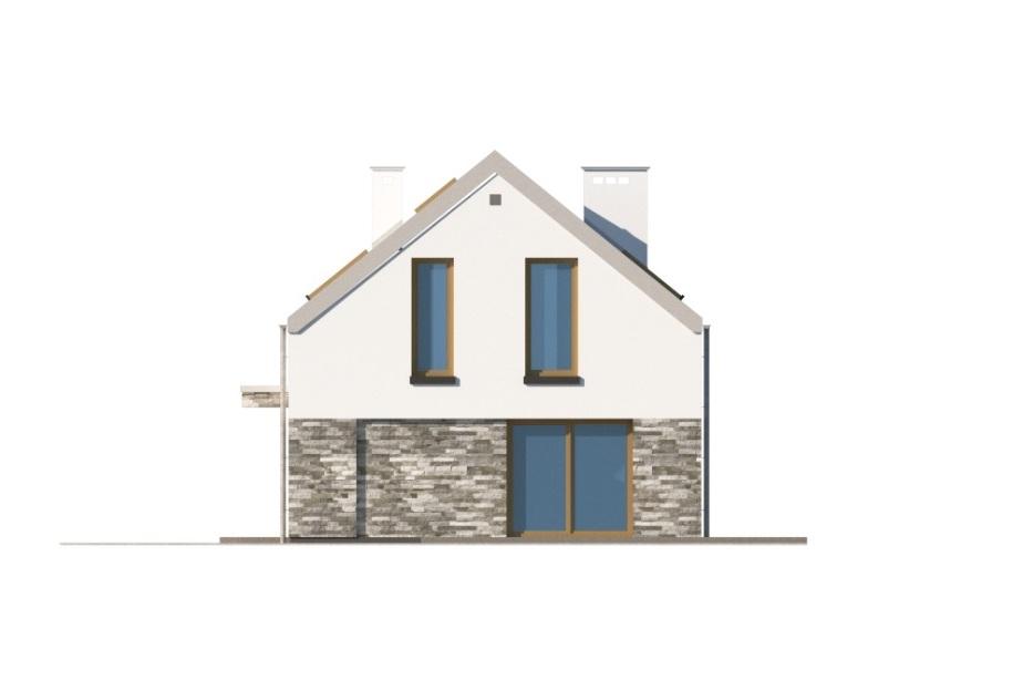 Projekt domu L-6768 - elewacja