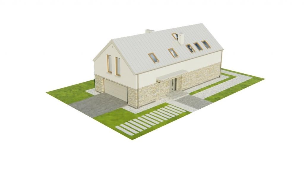 Projekt domu L-6768 - model