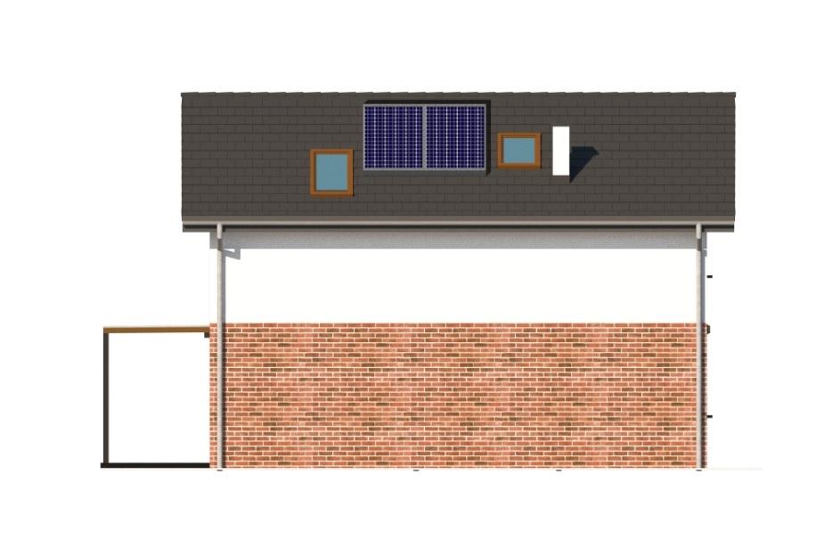 Projekt domu DM-6774 - elewacja