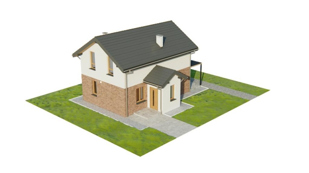 Projekt domu DM-6774 - model