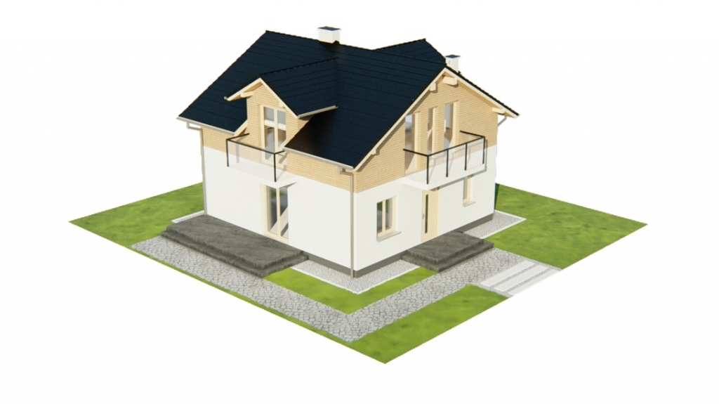 Projekt domu DM-6775 - model