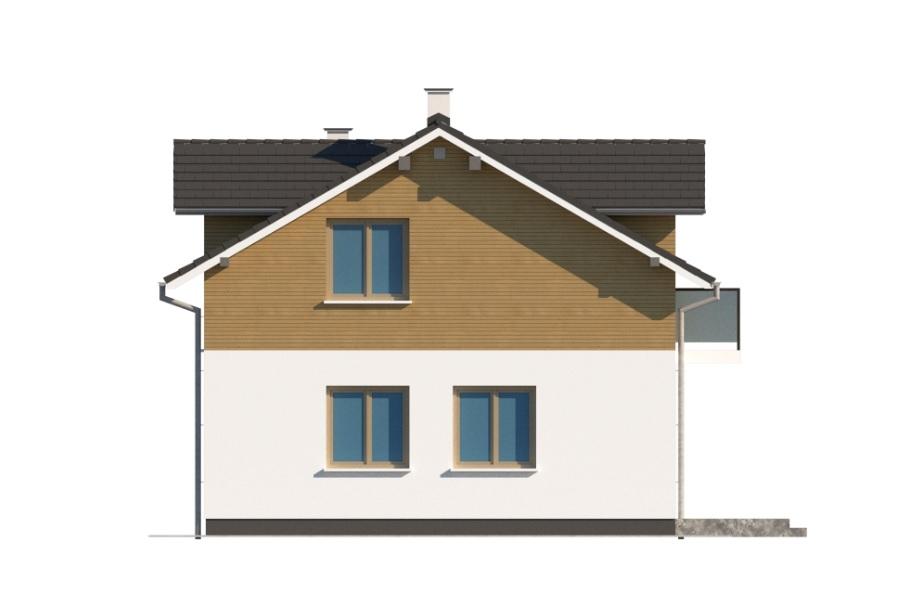 Projekt domu DM-6775 - elewacja