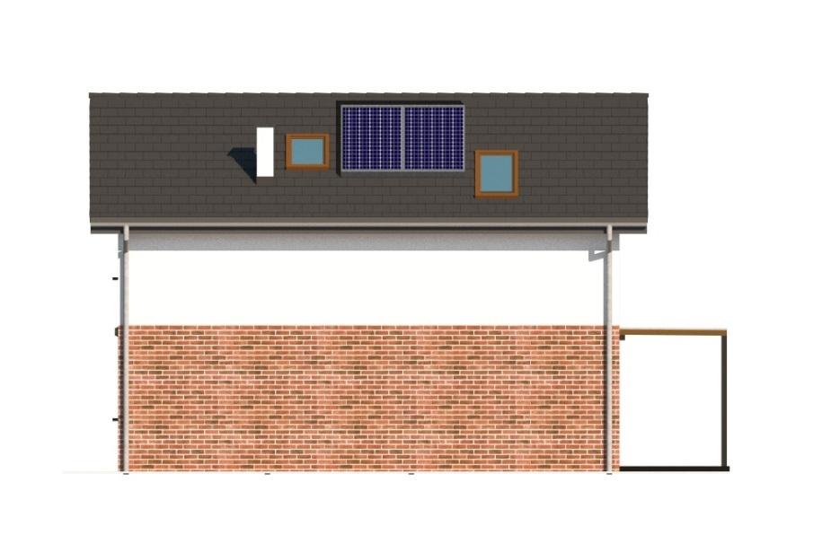Projekt domu L-6774 - elewacja