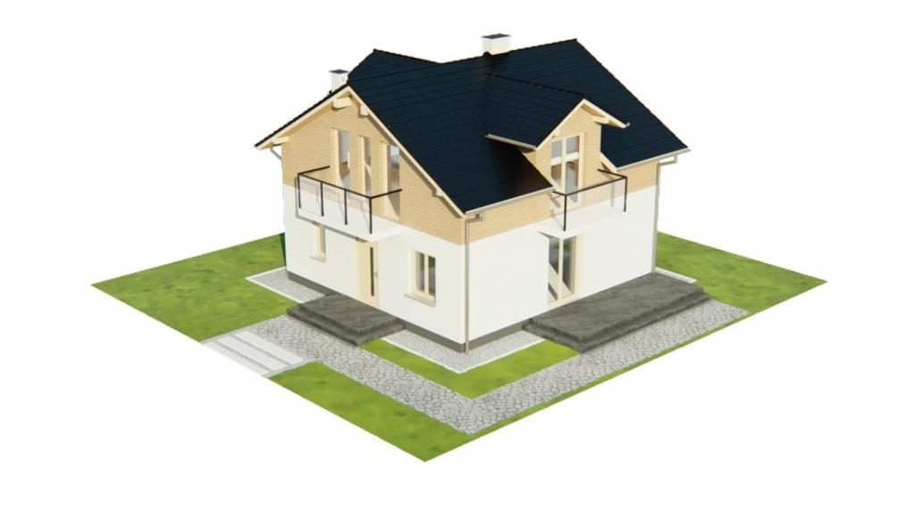 Projekt domu L-6775 - model