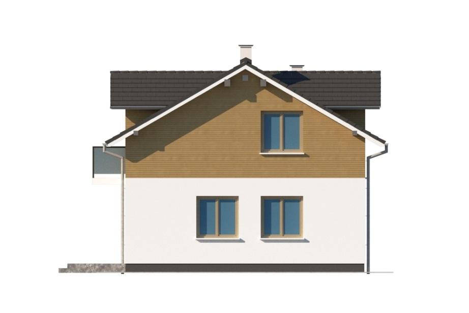 Projekt domu L-6775 - elewacja
