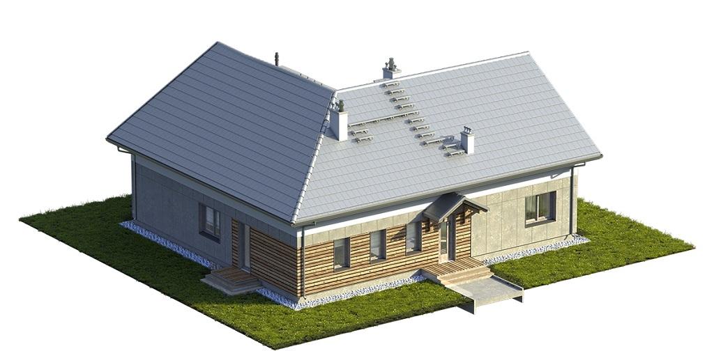 Projekt domu DM-6751 - model