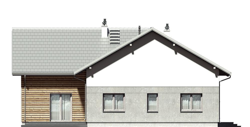 Projekt domu DM-6751 - elewacja