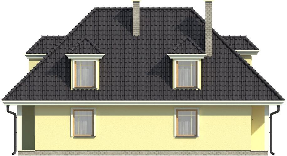 Projekt domu L-5502 - elewacja