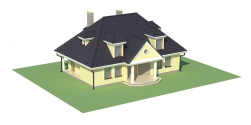 Projekt domu L-5502 - model