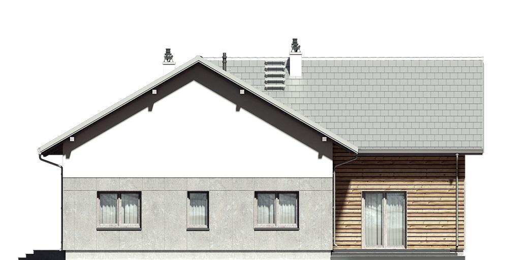 Projekt domu L-6751 - elewacja