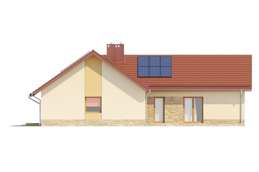 Projekt domu DM-6759 - elewacja