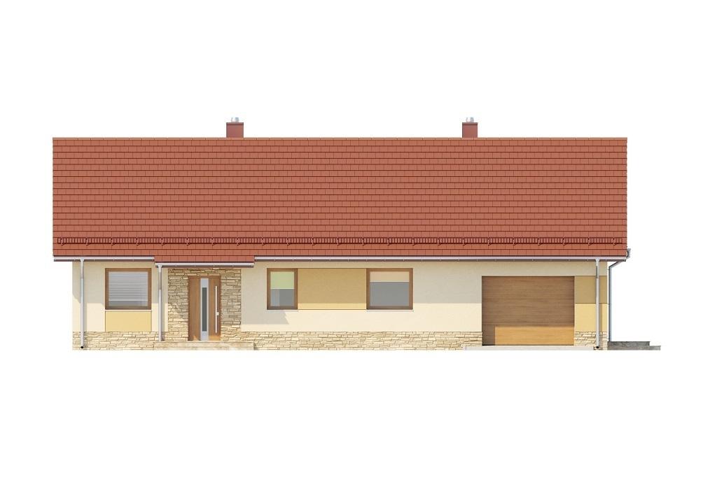 Projekt domu L-6759 - elewacja