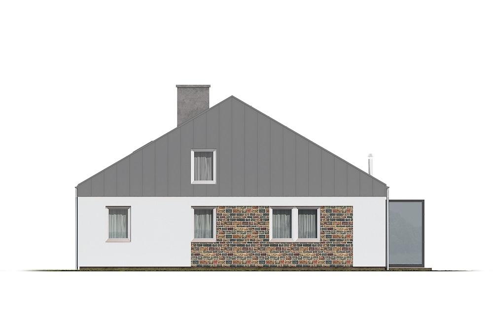 Projekt domu L-6757 - elewacja