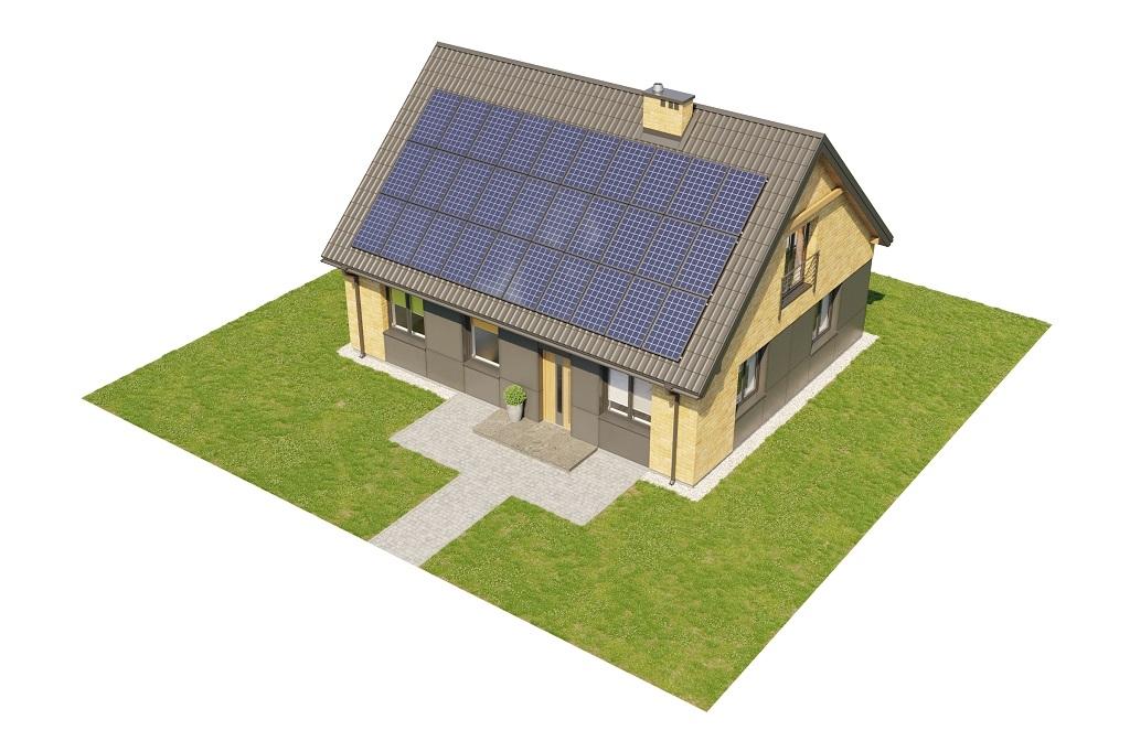 Projekt domu DM-6777 - model