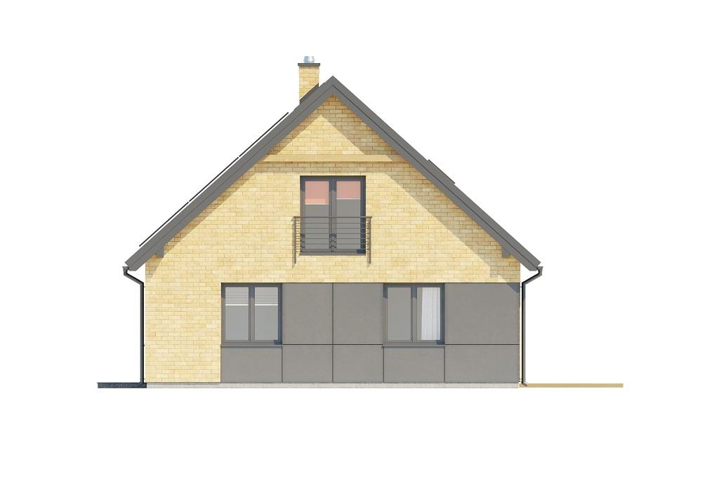 Projekt domu DM-6777 - elewacja