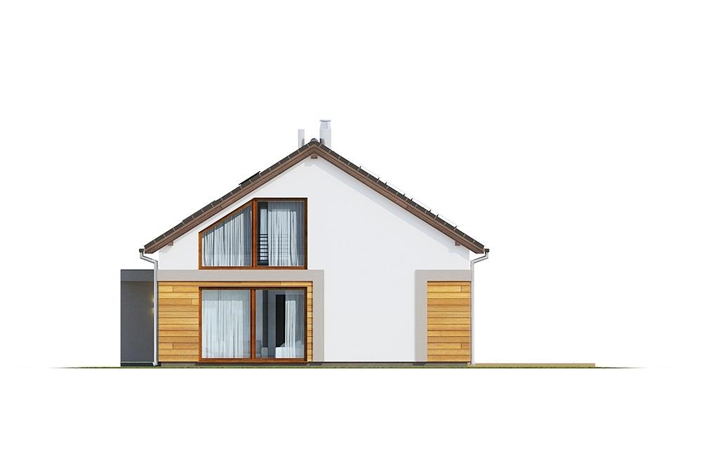 Projekt domu DM-6776 - elewacja