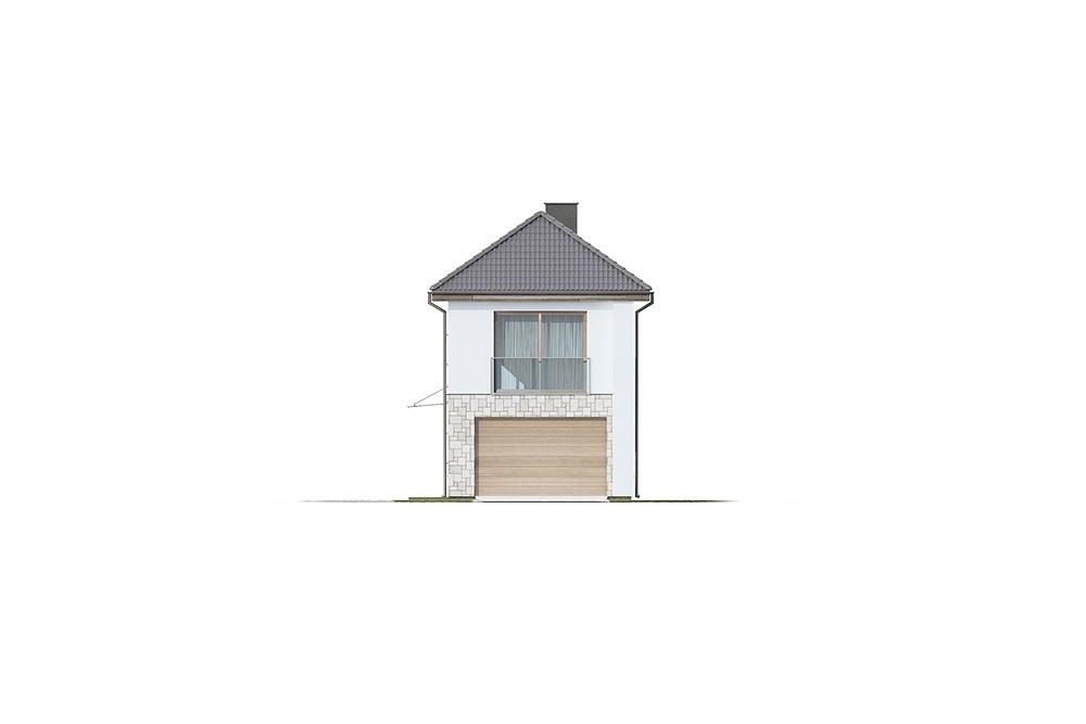 Projekt domu L-6770 - elewacja