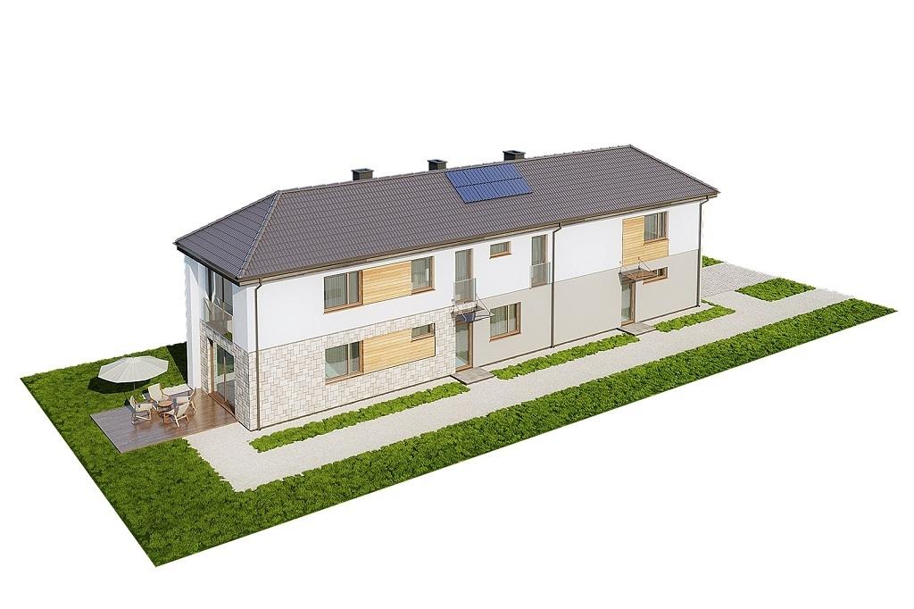 Projekt domu L-6770 - model