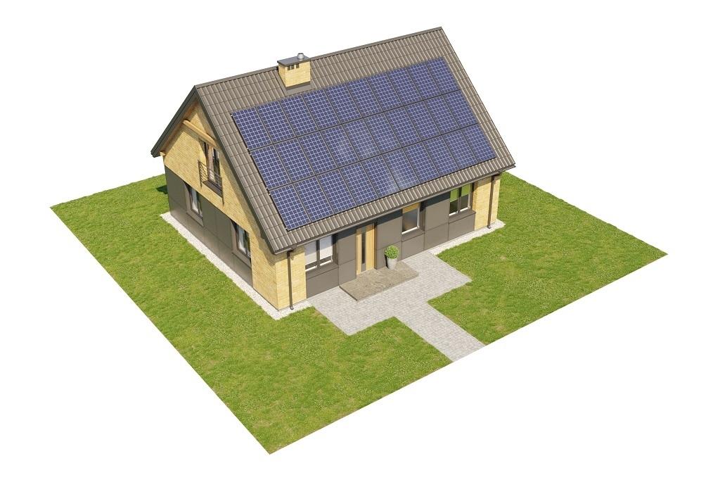 Projekt domu L-6777 - model