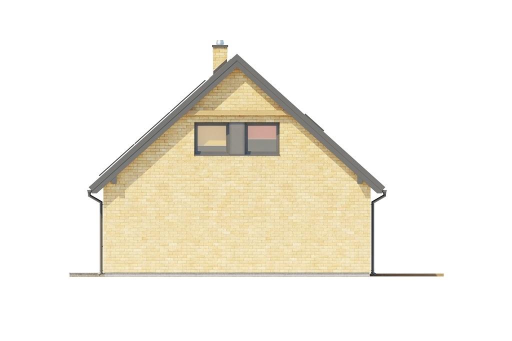 Projekt domu L-6777 - elewacja